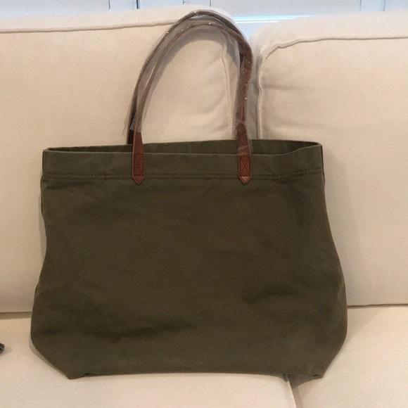 1ae701f56 Madewell Handbags - Madewell Canvas Transport Tote British Surplus RF